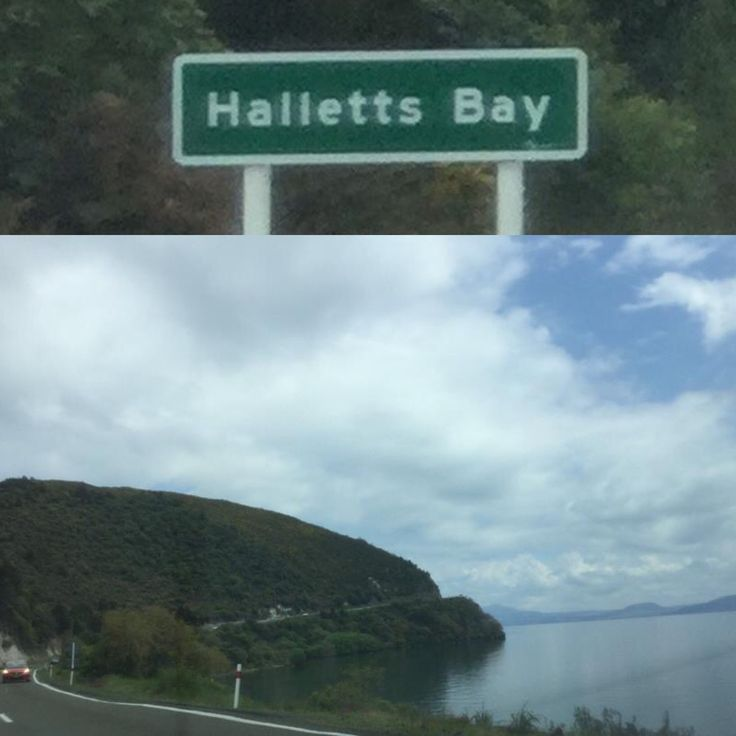 Hallett's Bay is a bay on the eastern shore of Lake Taupo, New Zealand. It was known as Hameria, named after Samaria during missionary times, and before that Paka. The early Māori explorer Tia built a tūāhu (ceremonial altar) to signify he occupied the land and named the cliffs Taupō-nui-a-Tia (the great cloak of Tia). This name was later given to the lake by the occupying tribes that followed. <wiki>