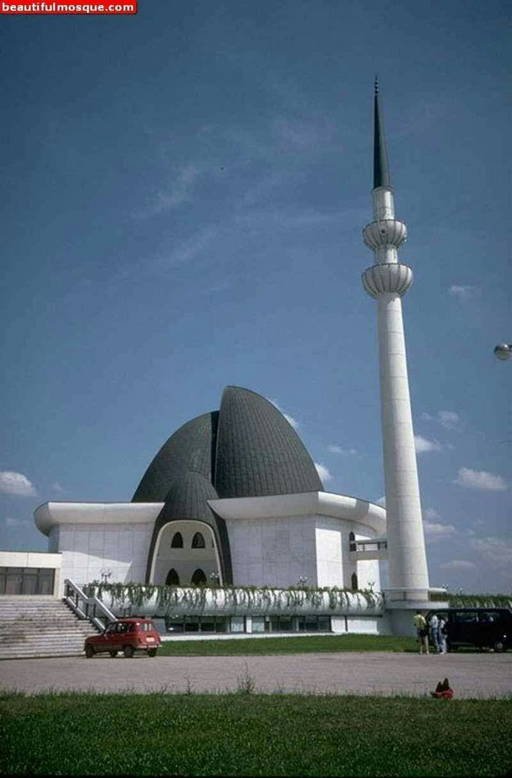 Masjid in Zagreb, Croatia.