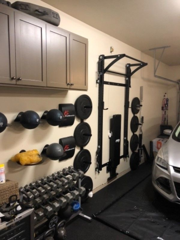 This Is What Tucking Your Home Gym Away For The Night Looks Like