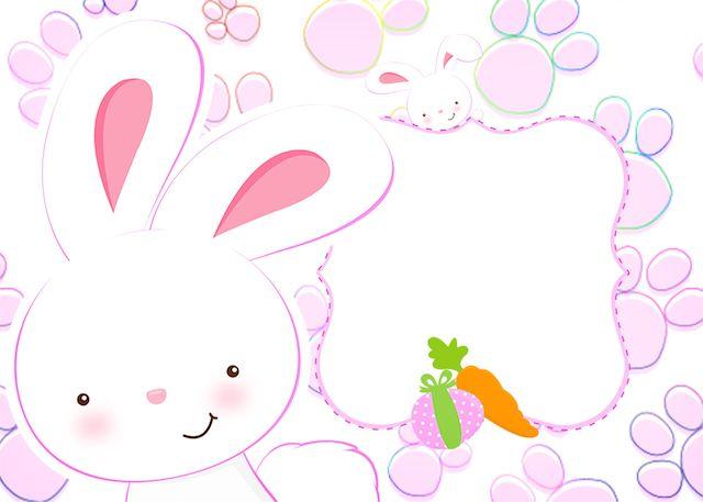 Baixe agora mesmo o kit festa infantil Páscoa Coelhinho Cute Rosa de graça e faça lindos personalizados para a sua Páscoa