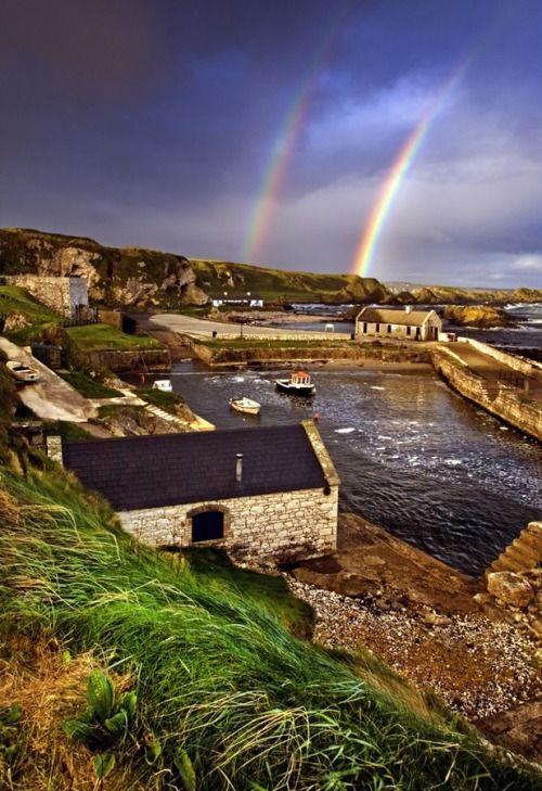 Ballintoy Harbor, Northern Ireland    (image via brilliantuk on tumblr)
