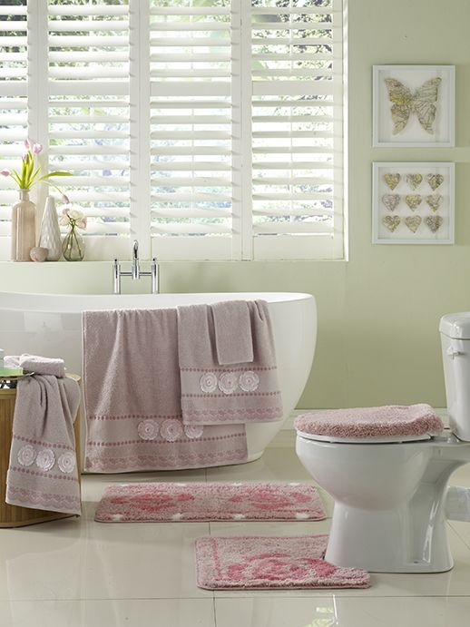 Rose bathroom set from HomeChoice https://www.homechoice.co.za/bathroom/default.aspx