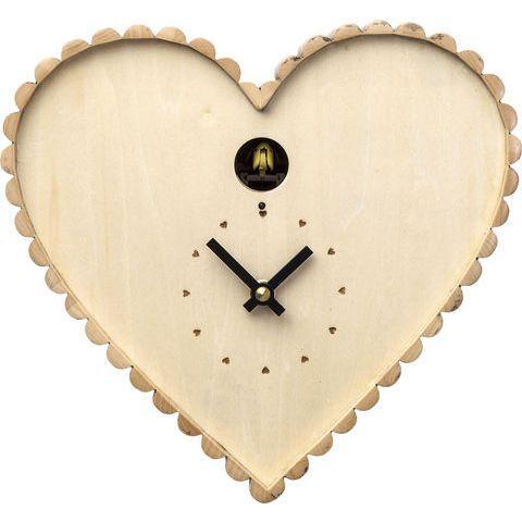 KARE Austria - Geschenkideen zum Muttertag - Wanduhr Kuckuck Heart #kare #kareaustria #karedesign #karewien #design #heart #uhr #kuckuck #muttertag #mothersday #mutter #mama #wien #austria #vienna