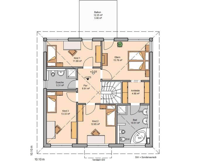 Stadtvilla moderne architektur grundriss  150 besten Grundrisse Bilder auf Pinterest | Super, Grundrisse und ...