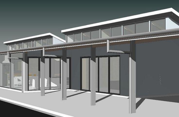 27 best skillion roofs designs images on pinterest for Clerestory roof design