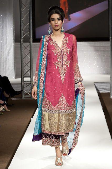 Pakistan Fashion Week 2011 London ~ Burooj Couture by Rana Noman Finale Show - Asian Wedding Ideas