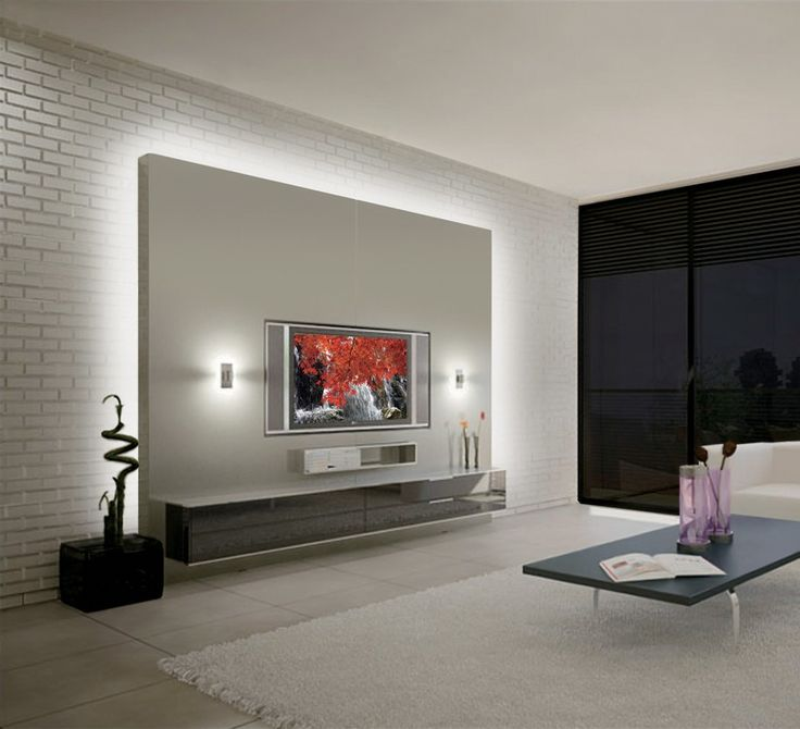Best 25 wall lighting ideas on pinterest wall lamps Wall tv console design