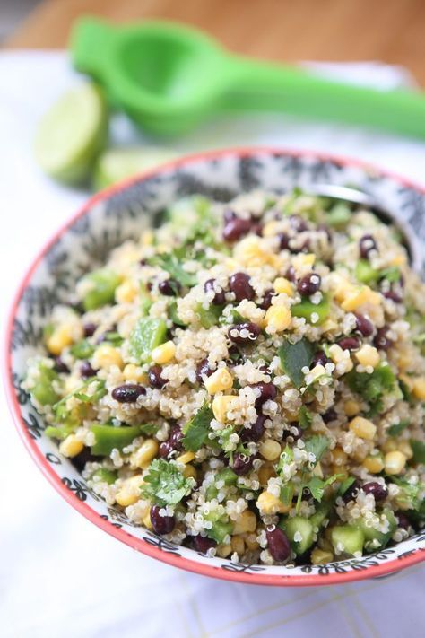If you have been wanting (or reluctant) to try quinoa, this recipe is for you…
