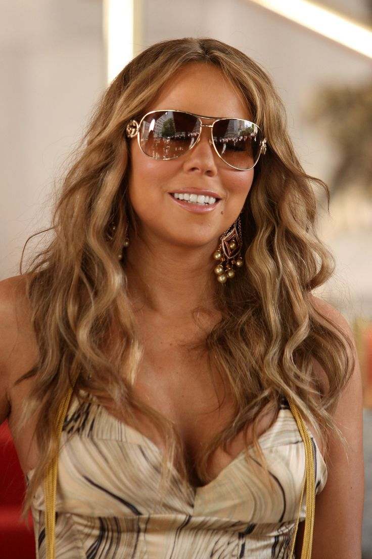 Ma mariah carey weight loss tip mariah - 19 Ways To Style Long Wavy Hair