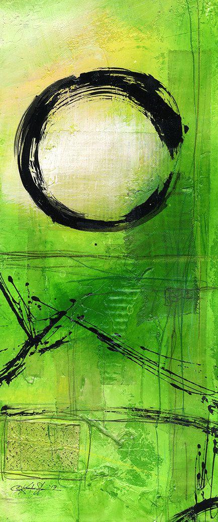 Original Enso Zen Painting Throw Pillows: 187 Best Zen Spirit & Enso, Zen Circles Images On Pinterest