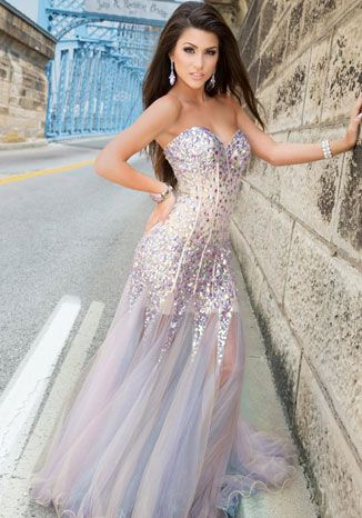29 best images about Prom on Pinterest | Long prom dresses, A line ...