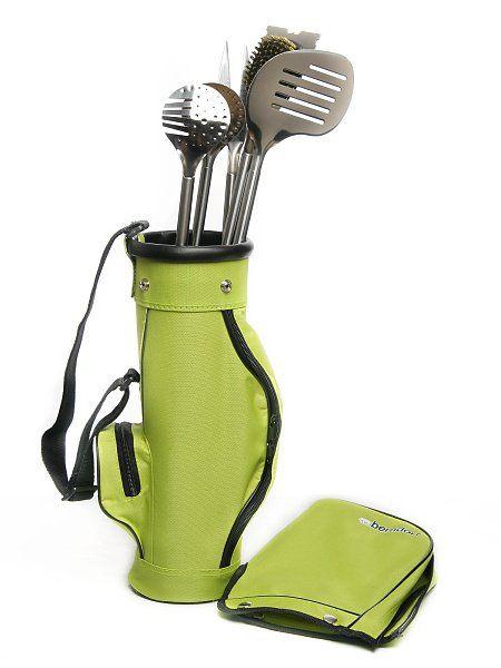 Berndorf-Sandrik Grilovací souprava Golf je parádní sada pro grilování, a to nejen pro fanoušky golfu.
