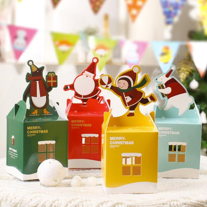 Packaging Design Package Christmas Box Creative
