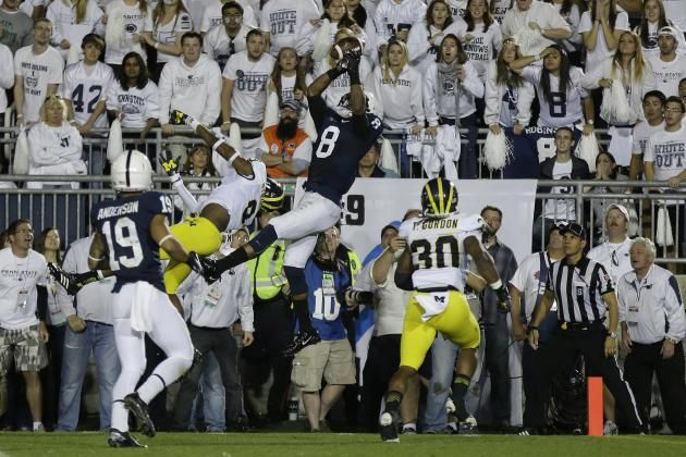 Gone are the record-breaking performances of Allen Robinson along with the veteran leadership and on-field dominance of DaQuan Jones and William V. Campbell Award winner John Urschel.  There are plenty of players vying for their spots on the current roster, but filling the shoes of college's elite players won't be easy.