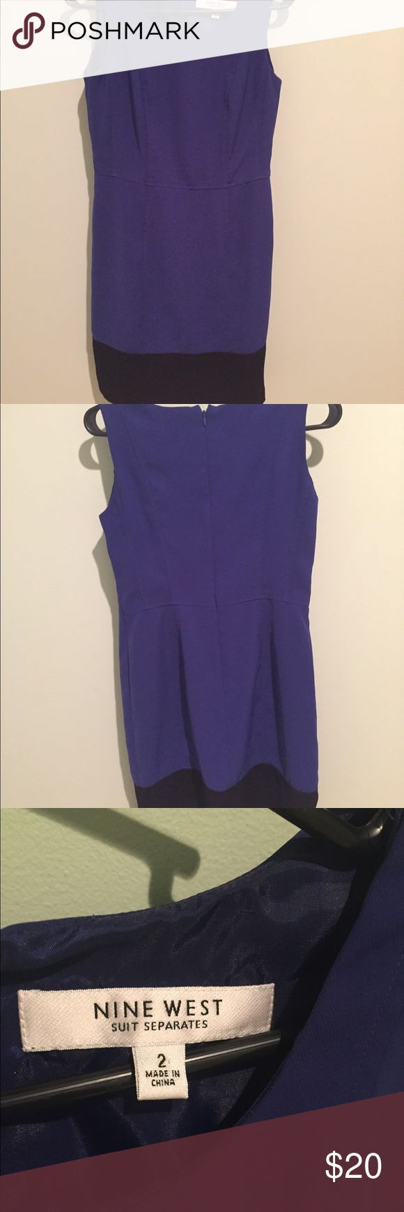 Nine West Suit Separates Dress Size 2, seems to run slightly big. Good condition, no stains. Nine West Dresses Strapless