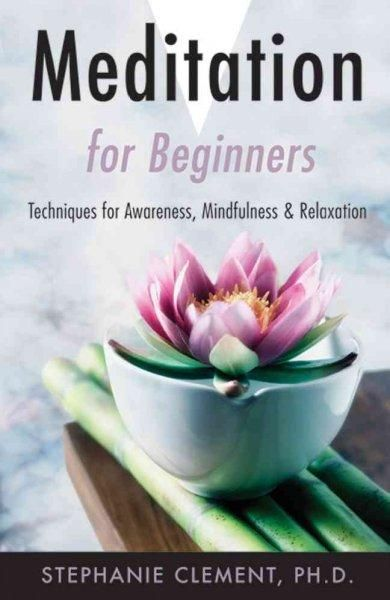 Meditation for Beginners: Techniques for Awareness, Mindfulness & Relaxation