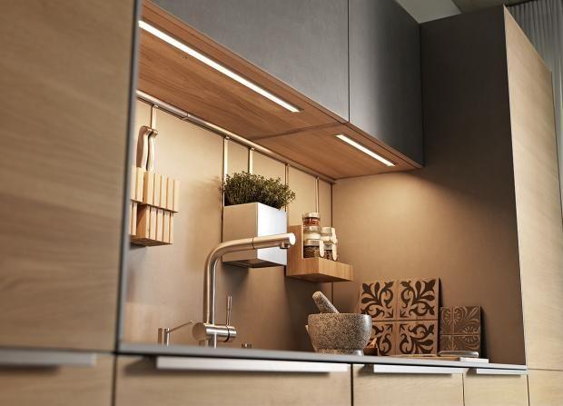 Kleine Küchen: Tipps Für Mehr Stauraum: Licht In Nischenküchen