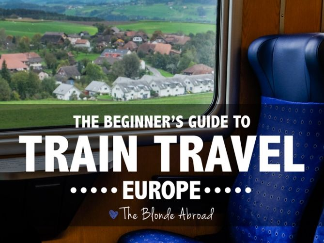 Traveling by train in Europe is an experience within itself.