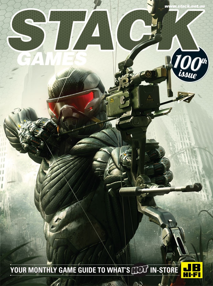 STACK issue 100 - February 2013  Crysis 3
