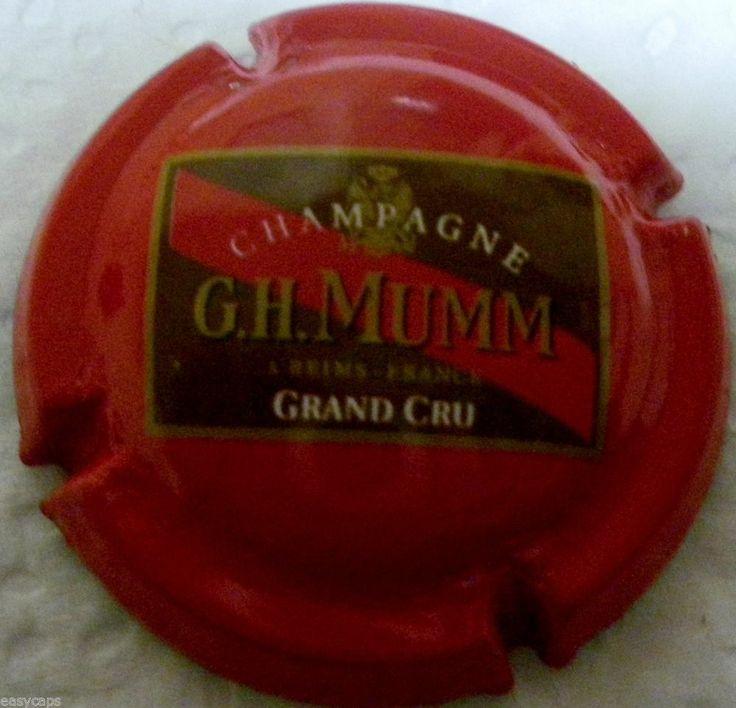 Capsule de Champagne Mumm N° 140 GRAND CRU