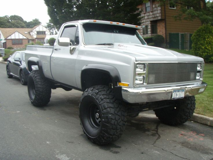 53 best ck images on pinterest chevy 4x4 lifted trucks and 4x4 85 chevy k10 lifted if u had to get a gas truck sciox Choice Image