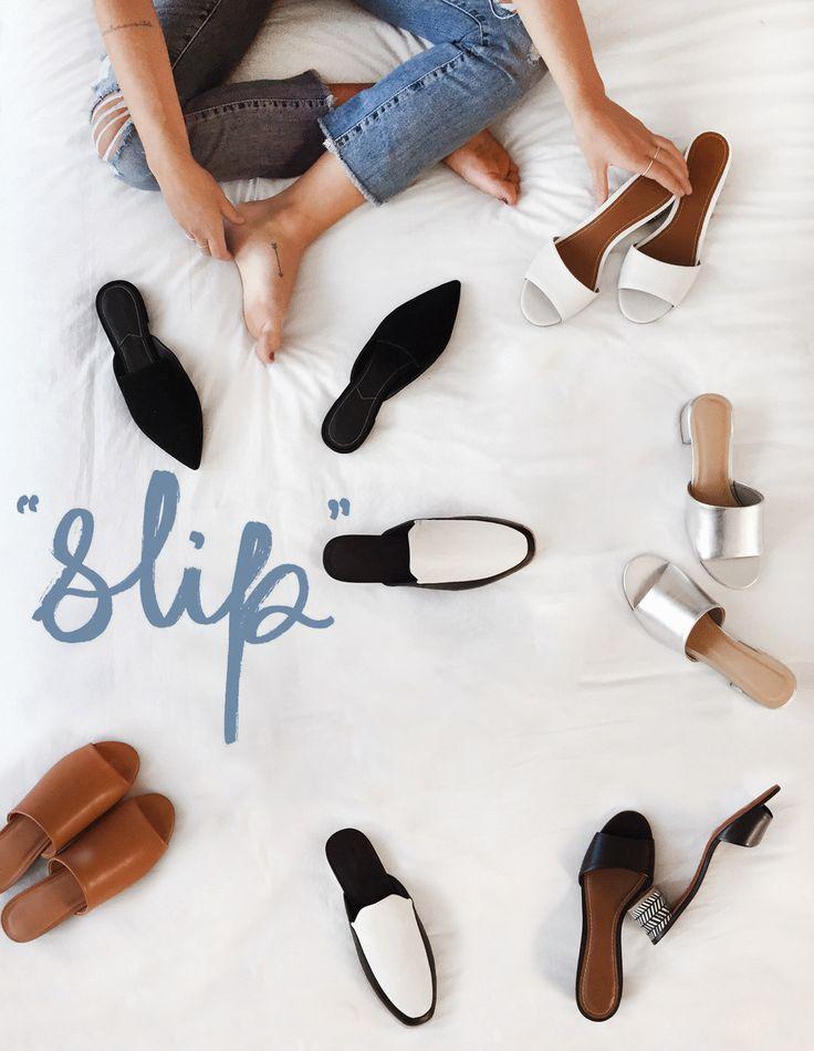 Slip into Summer - Slip-on - Mules - Sabots - Découvrez notre collection de chaussures pour l'été