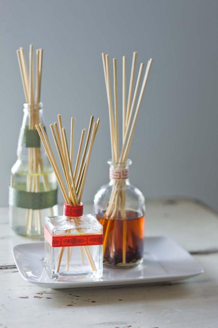 DIY reed diffusers