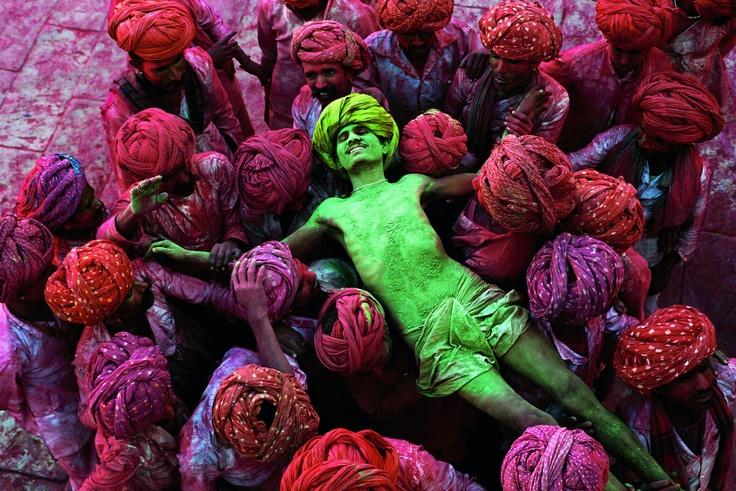 Holi Festival, Rajasthan, India. Steve MCurry/Magnum Photos - CNN Photos