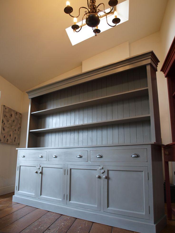 large dresser with doors