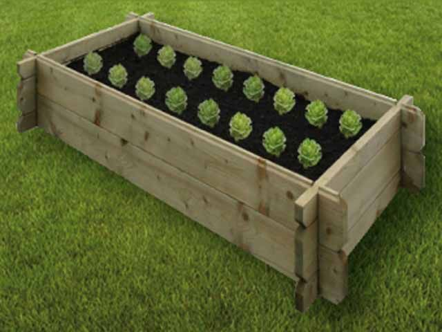 Easy Assemble Raised Garden Beds 6ft by 3ft