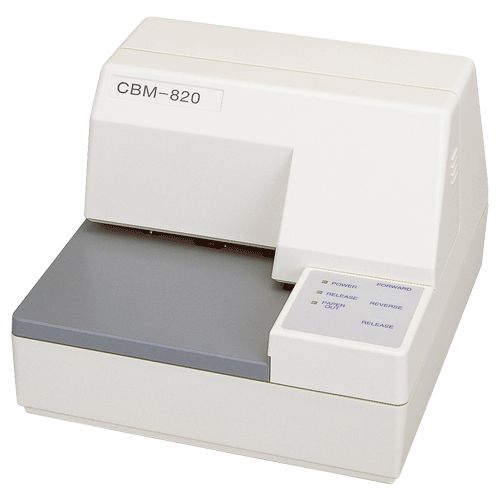 High Speed Dot Matrix Printing 	Up to 3.1 LPS printing speed 	Easy Loading 	Flat bed Slip Printer 	3 ply Printing Capable 	Compact Design 	Multiple sensors (top-of-form, bottom-of-form)    	 		 			 			Ribbon 			 			 			RC200B 			 			 			Black Cassette Ribbon