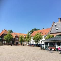 Photo taken at Sorø Torv by Anne M. on 7/4/2014