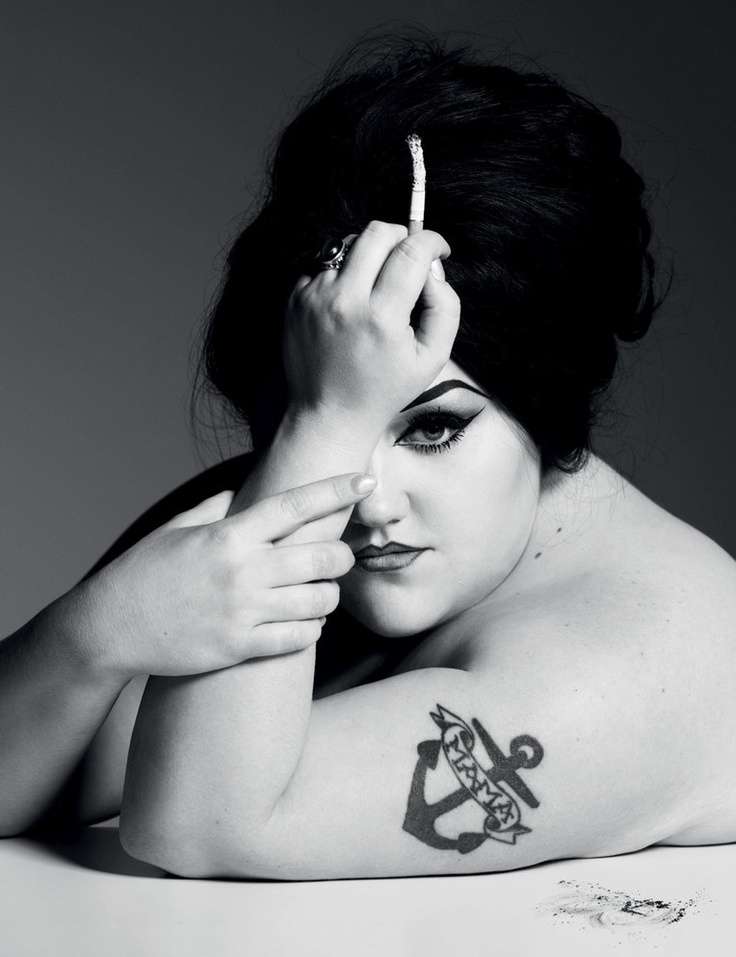 Beth Ditto beautiful!