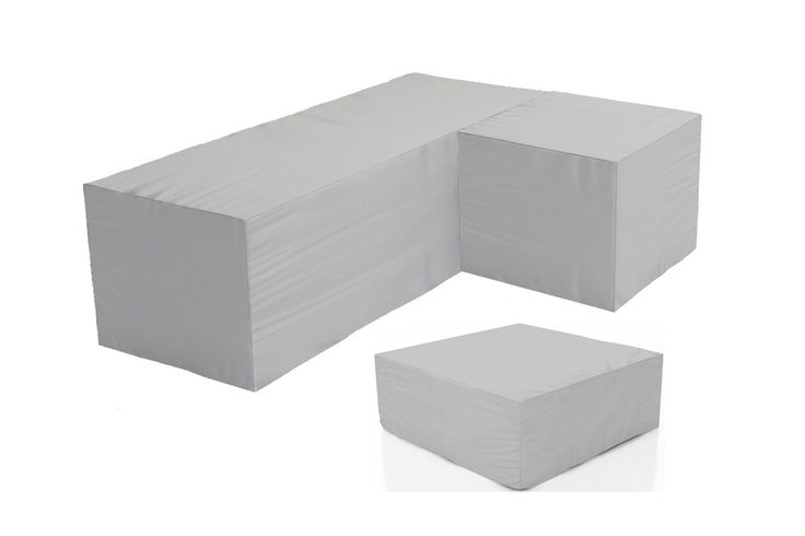 Sook 3 Piece Sectional Cover Set