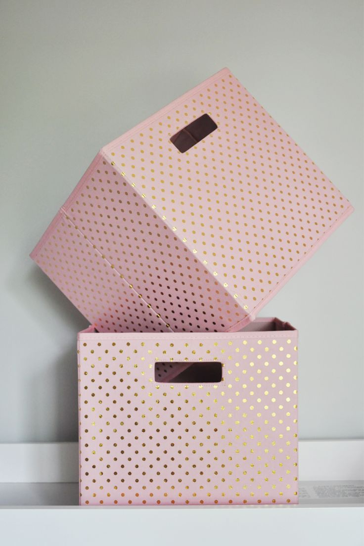 Adding Personality To The Nursery With Accessories And Diy Projects Blush Pink Storage Bins