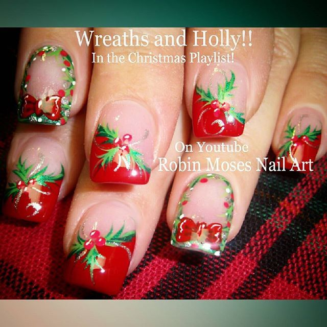 robin moses @robinmosesnailart #christmasnails #...Instagram photo | Websta (Webstagram)