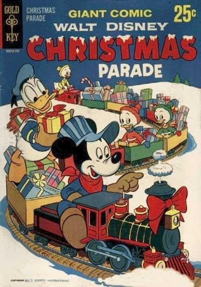 WALT DISNEY CHRISTMAS PARADE, BRONZE AGE COMIC