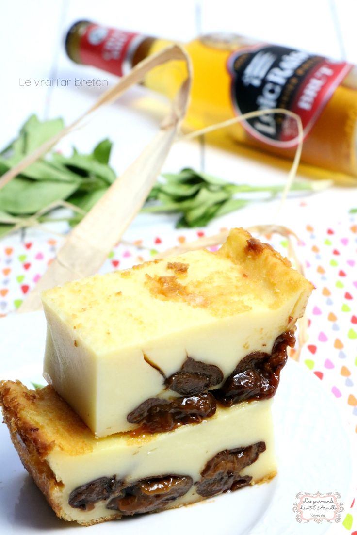 |  The real Far Breton with prunes |  © The Gourmet {say} Armelle