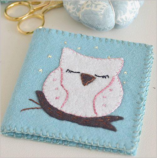My Owl Barn: DIY: Needle Holder