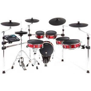 Alesis Strike Pro - 6-piece Electronic Drum Kit with Mesh Drumheads