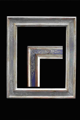 Decoraci n de marcos marcos artesanales para espejos spaces for Espejos artesanales