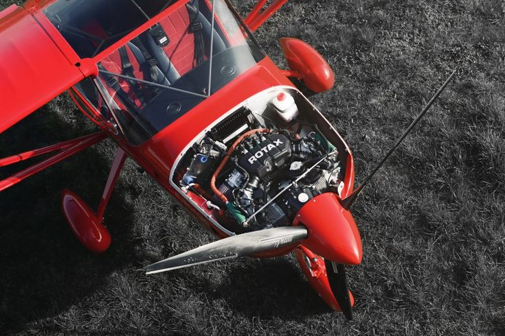 Aeropro Eurofox IS engine cowl new design, Samuel Nicz