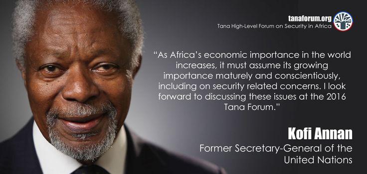 Quote from Kofi Annan