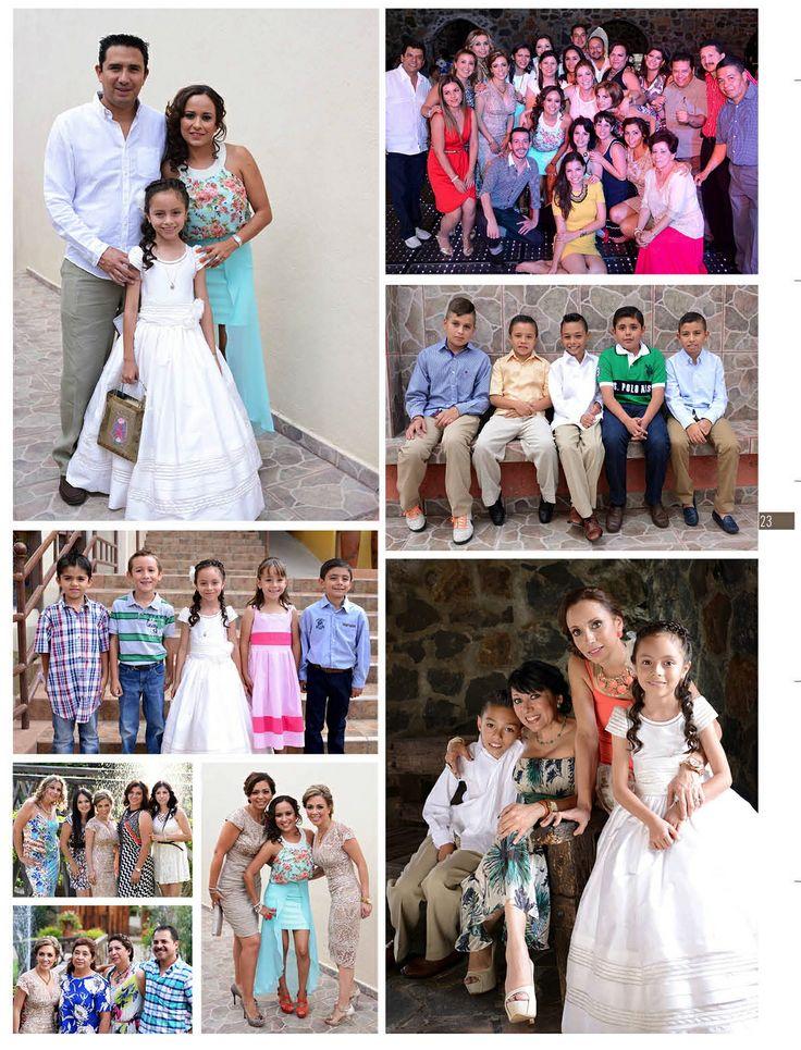 Más de la primera comunión Pavel y Karumy, festejaron en Villa Guadalupe