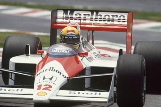アイルトン・セナのF1キャリアを歴代のF1マシンとともに振り返る。