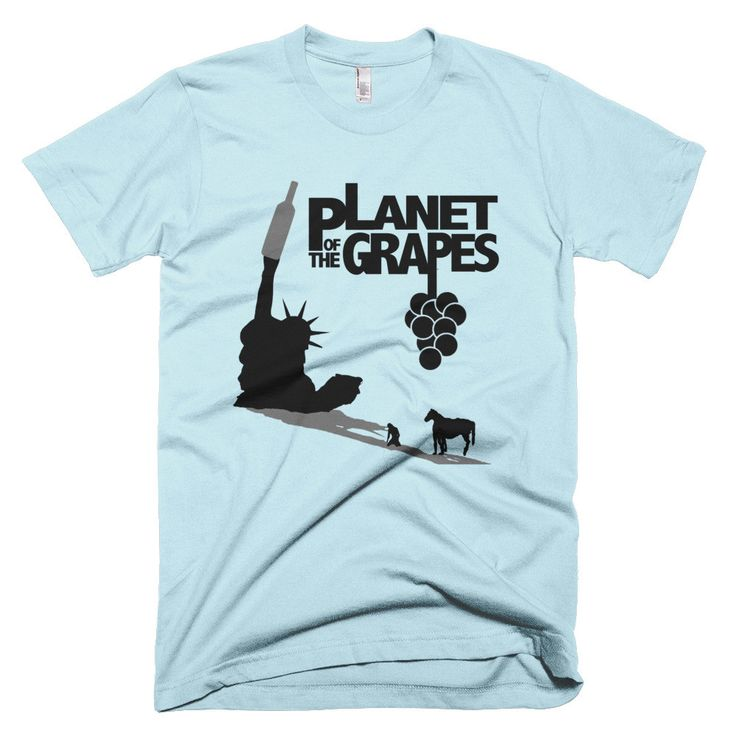 Planet of the Grapes T-Shirt (Short Sleeve)