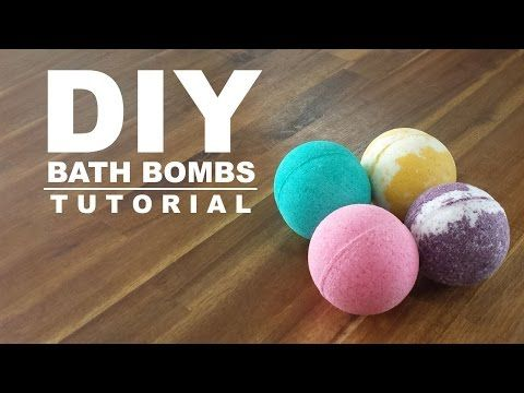 DIY FIZZY BATH BOMBS!  HUGE BATH BOMBS!! EASY RECIPE! - YouTube