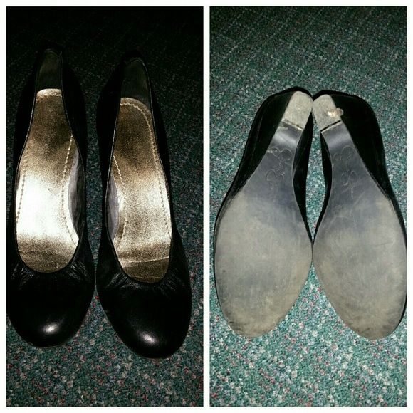 Jessica Simpson wedge shoes EUC, lightly used! Great for dressing up or down! Jessica Simpson Shoes Heels