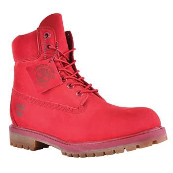 Timberland - Boots Icon 6-inch Premium Homme - Rouge
