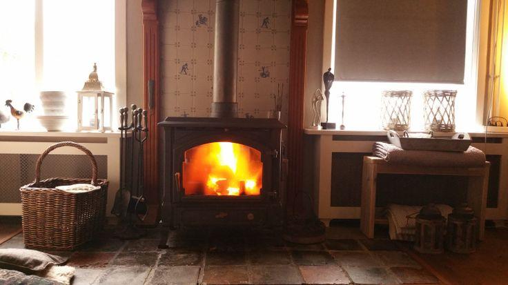 Stroomuitval houtkachel warmte thuis huis hout